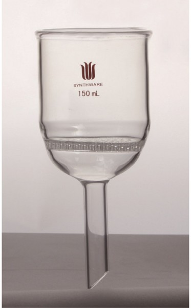 Funnel F80, Buchner, perforated glass plate