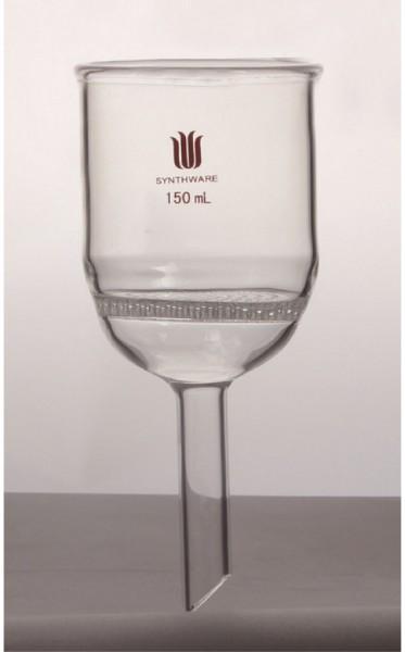 Filtertrichter, Buchner, Glas-Lochscheibe