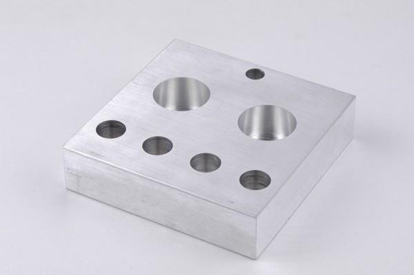 Microscale, heat transfer block H20 for vials