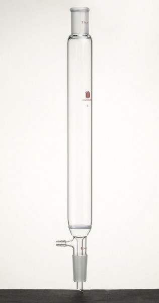 Chromatography, column F38C, 29/32 joints, heavy wall design, fritted disc, vacuum